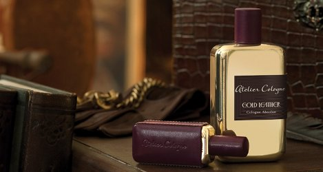 Atelier Cologne Gold Leather, brand visual
