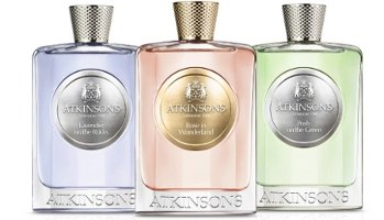Atkinsons Rose in Wonderland, Lavender on the Rocks & Posh on the Green