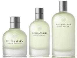 Bottega Veneta Essence Aromatique fragrance bottles