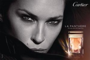 Model Erin Wasson for Cartier La Panthère