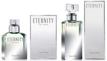 Calvin Klein Eternity 25th anniversary editions