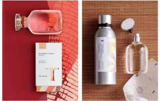 Thymes Rosewood Citron and Tiare Monoi