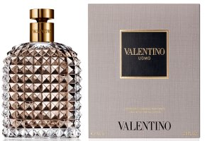 Valentino Uomo packaging