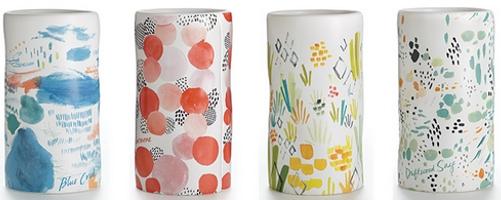 Illume Sketchbook Ceramics candles