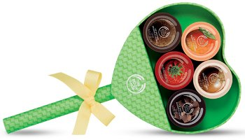 The Body Shop Lip Butter Lollipop gift set