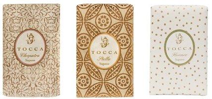 Tocca bar soaps