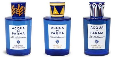 Acqua di Parma Blu Mediterraneo limited editions, 1 of 2