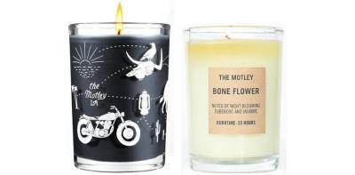 The Motley x JOYA Easy Rider candle
