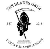 The Blades Grim Luxury Gold Shaving Soap