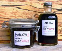 Harlow Coffee Body Scrub & Body Wash