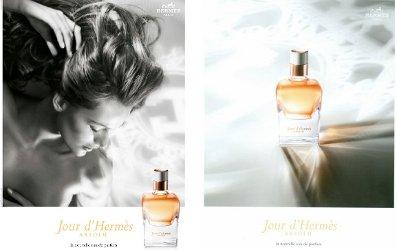 Jour D'Hermès Absolu visuals