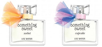 Lise Water Something Sweet Sorbet & Something Sweet Cupcake