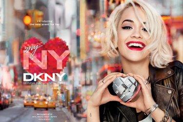 Rita Ora for DKNY MYNY