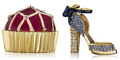 Estee Lauder Delectable Bon Bon and Sparkling Stiletto compacts