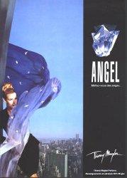 Estelle Lefébure for Thierry Mugler Angel