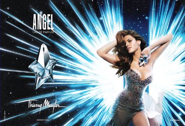 Eva Mendes for Thierry Mugler Angel