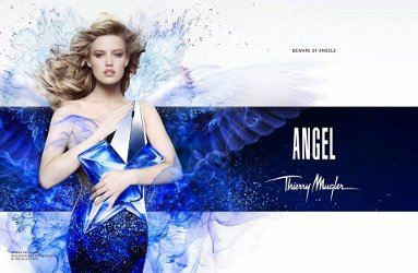 Georgia May Jagger for Theirry Mugler Angel