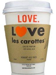 I Love Les Carottes by Honoré des Prés, outer packaging