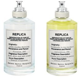 Maison Martin Margiela Replica Lazy Sunday Morning & Promenade in the Gardens, fragrance bottles