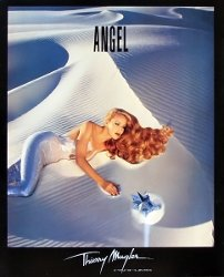 Jerry Hall for Thierry Mugler Angel