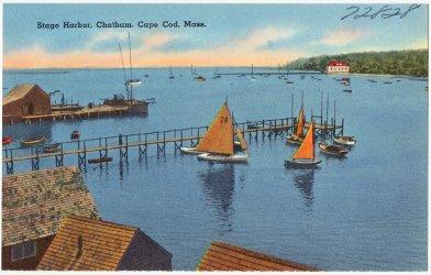 Stage Harbor, Chatham, Cape Cod, Mass.