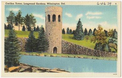 Carillon Tower, Longwood Gardens, Wilmington Del.