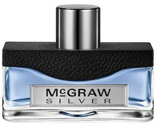 McGraw Silver cologne for men