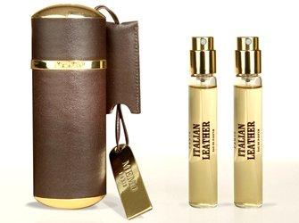 Memo leather travel atomizer