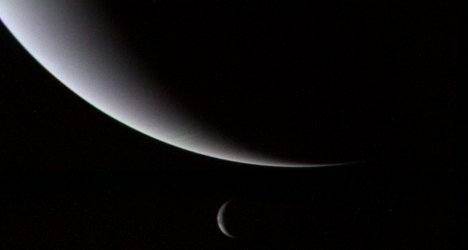 Neptune and Triton via NASA
