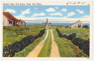 Quaint Cape Cod scene, Cape Cod Mass.