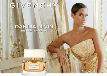 Alicia Keys for Givenchy Dahlia Divin
