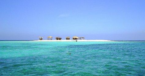 DOMINICAN REPUBLIC. Desert island.