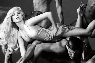 Lady Gaga Eau de Gaga, promotional image