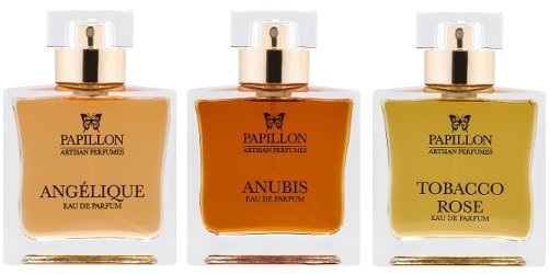 Papillon Perfumery Angelique, Anubis & Tobacco Rose