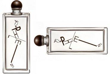 Serge Lutens L'Orpheline, engraved bottle