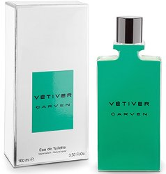 New packaging Carven Vétiver