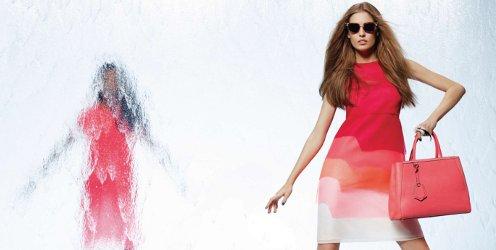 Fendi Spring 2014 fashion campaign