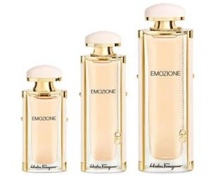 Salvatore Ferragamo Emozione, bottle sizes