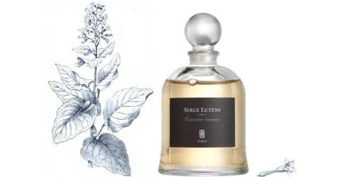 Serge Lutens Fumerie Turque with wild tobacco images