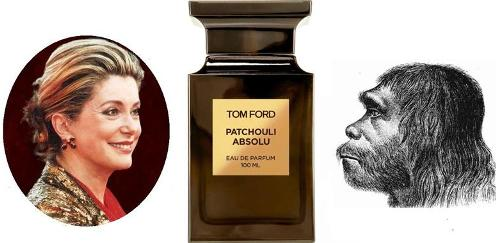 Tom Ford Patchouli Absolu, Catherine Deneuve and a Neanderthal