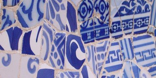 Park Güell mosaics
