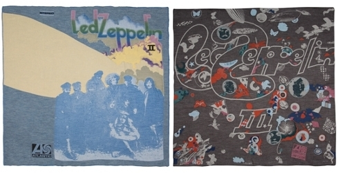 Led Zeppelin scarves, Paul Smith