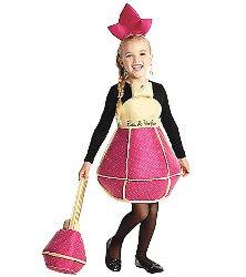 Pink perfume bottle girls costume