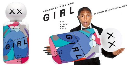 Comme des Garcons + Pharrell Williams Girl