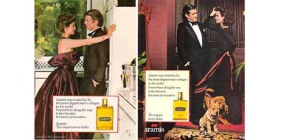Vintage Aramis adverts