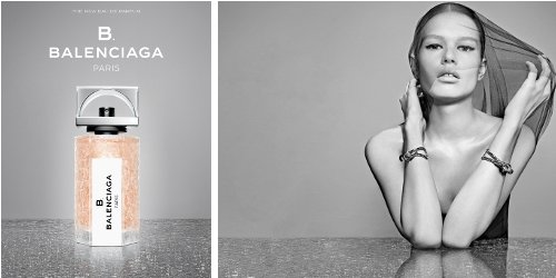 B Balenciaga adverts