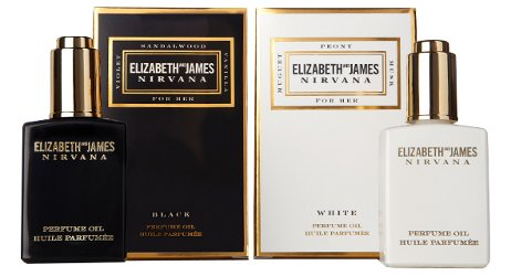 Elizabeth and James Nirvana Black and Nirvana White Perfume Oil