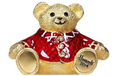 2014 Estee Lauder Harrods Christmas Bear