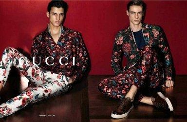 Gucci Uomo fashion campaign