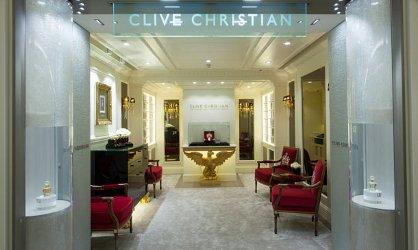 Clive Christian at the Salon de Parfums at Harrods